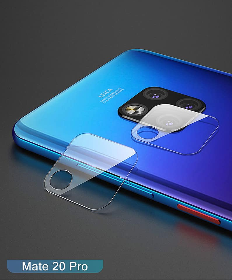 Huawei Mate 20 and Mate 20 Pro camera glass protector.