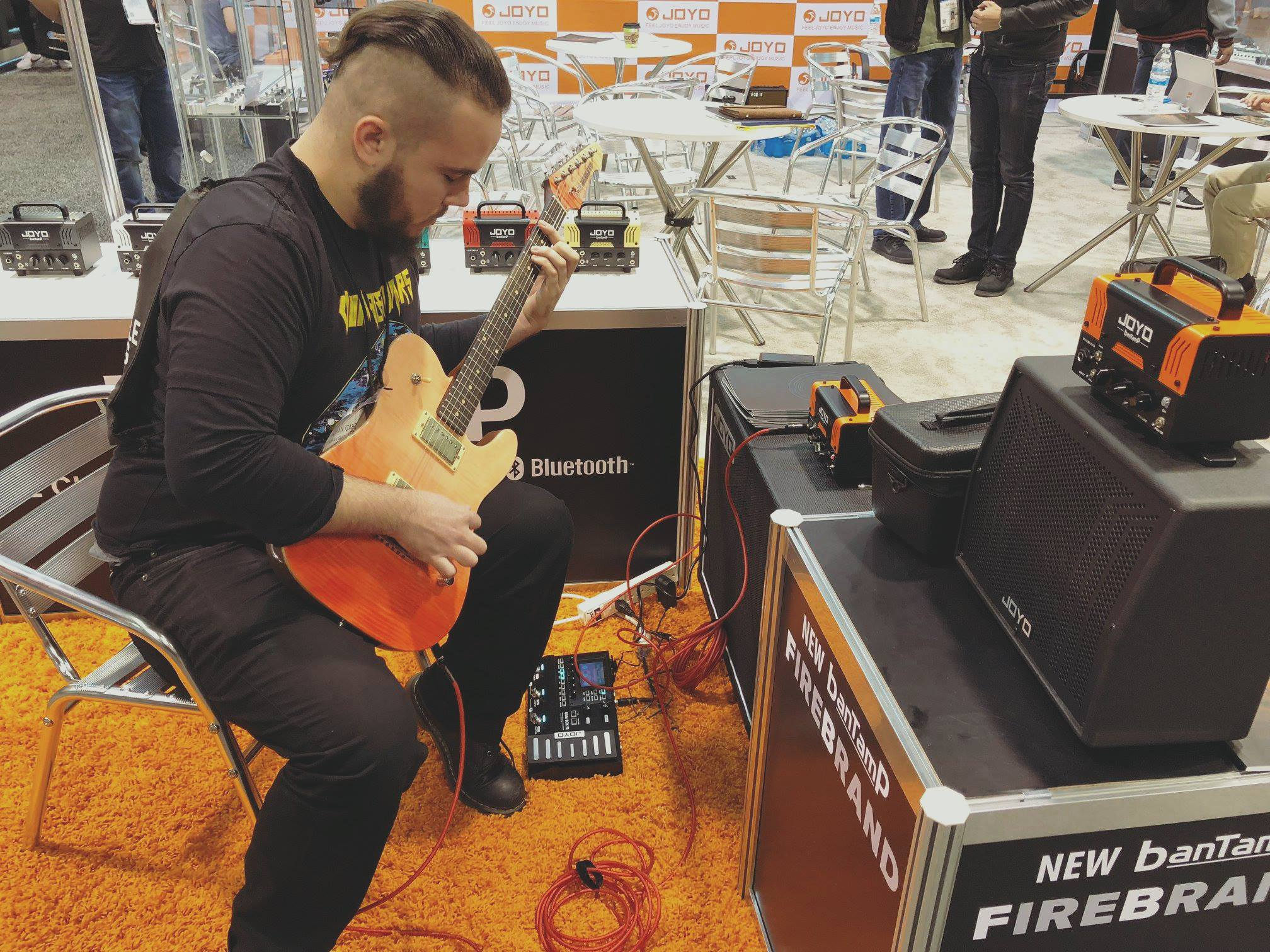 Pics from NAMM!