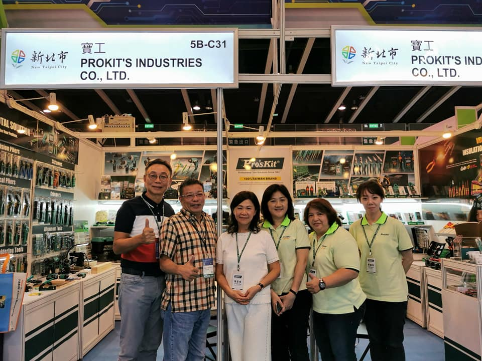 What are you waiting for?  Come to visit Pro'sKit @ HK electronics fair now~