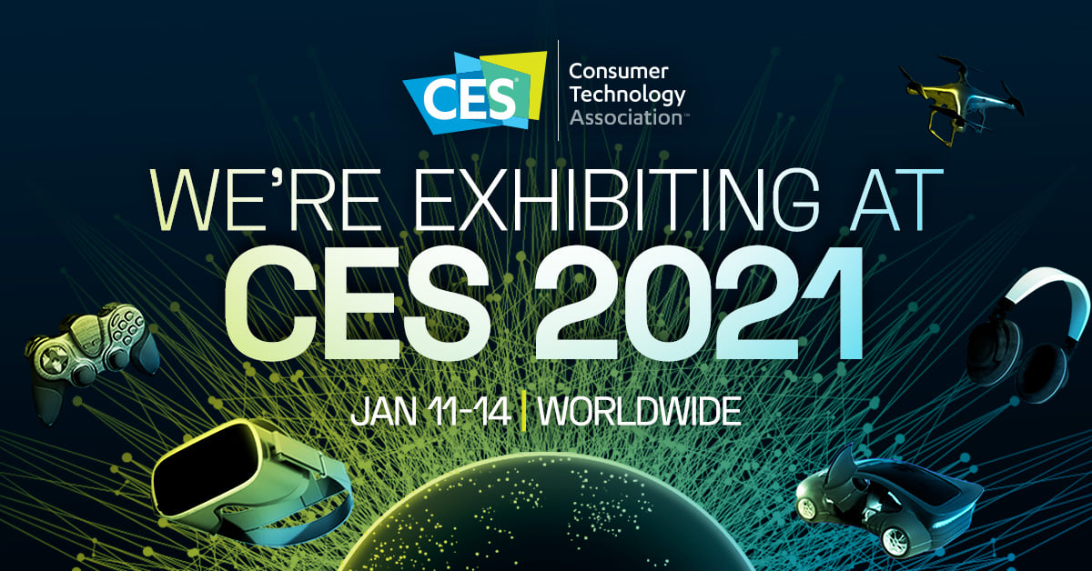 This year CES is going all digital and we're thrilled to be there!