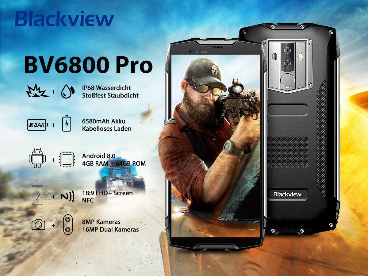 👏#Blackview #BV6800Pro Robust Smartphone👏