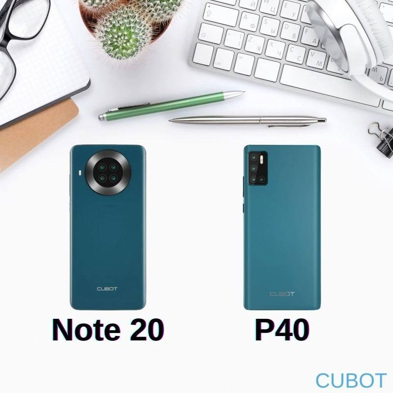 The battle of the millenium is here, the Cubot Note 20 vs the Cubot P40! Which one do you prefer? Note 20: