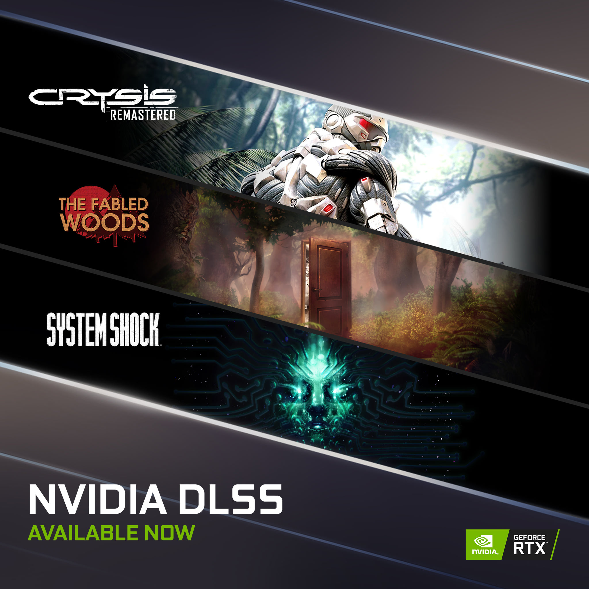 NVIDIA DLSS is coming to more of your favorite games for maximum performance!  #RTXOn  ⚡ Crysis Remastered