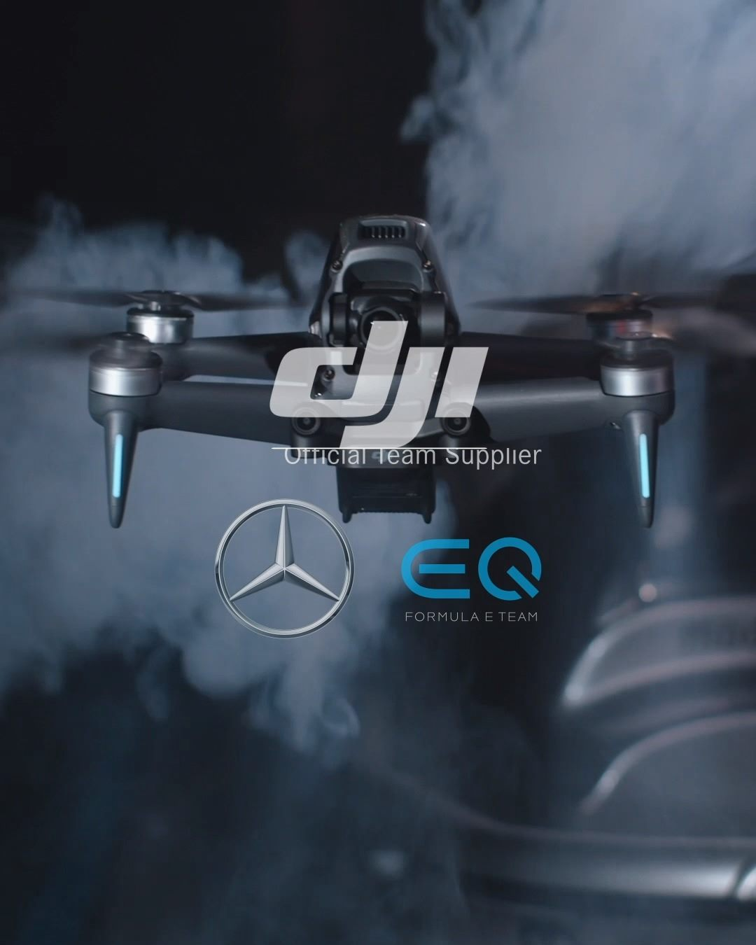 Want to see how DJI FPV holds up against Mercedes-Benz EQ Formula E Team on the track? ⚡️