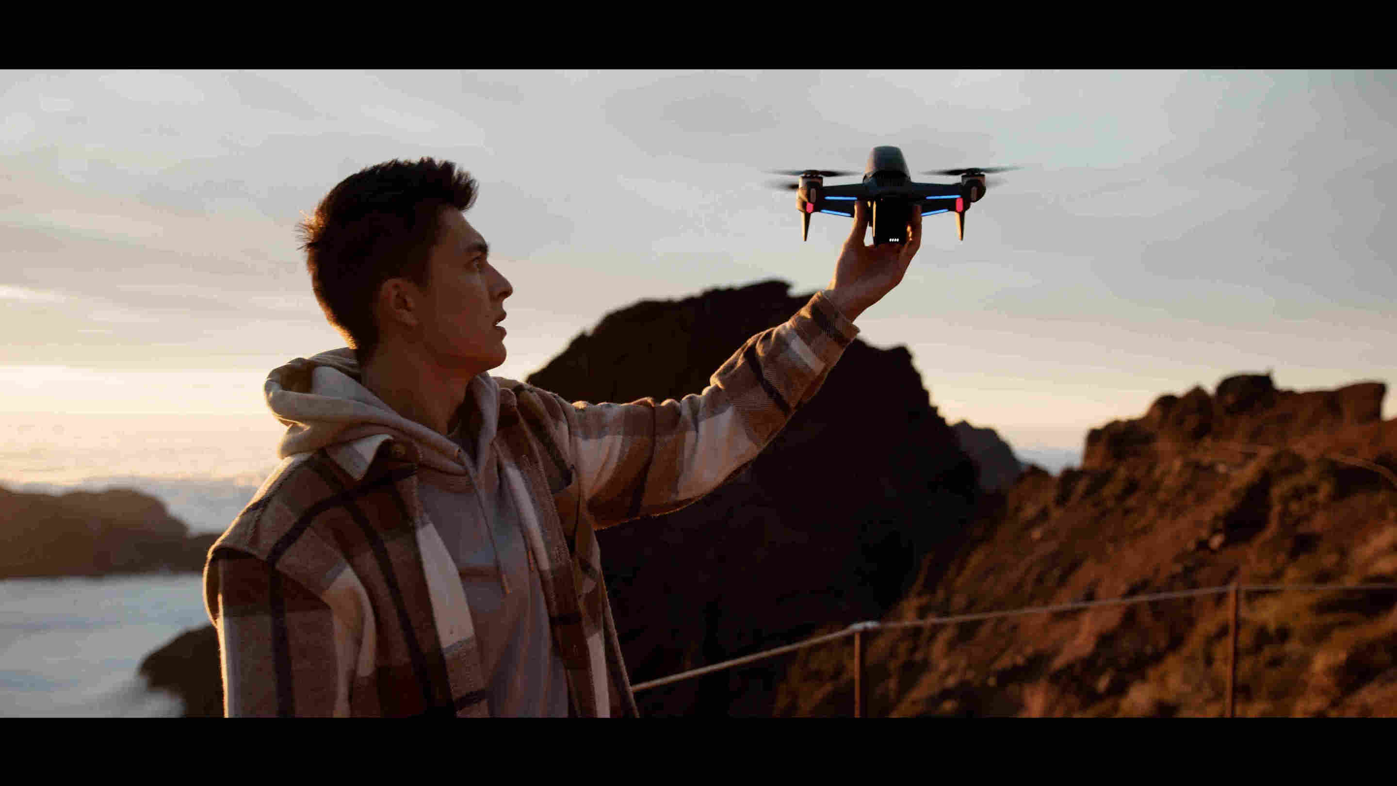 "DJI FPV is ""lightweight, portable, and a quick, simple set up... the possibilities are far-reaching."" - Michael Gray"