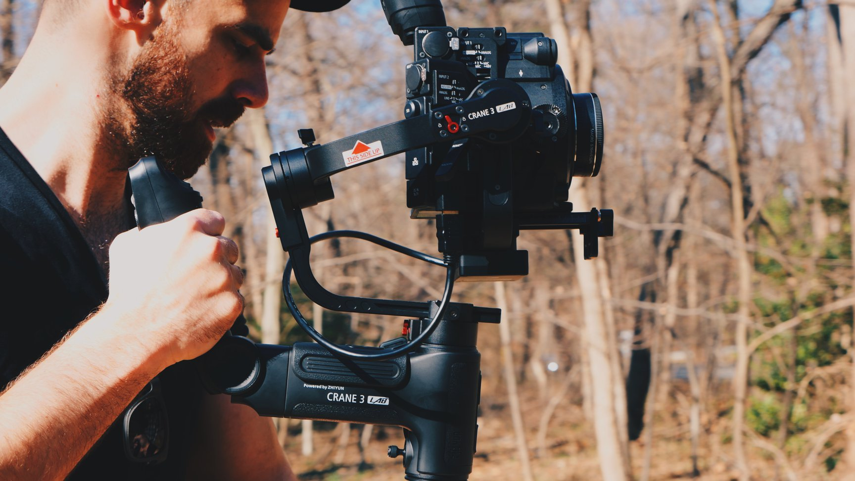 Shooting in the forest #Zhiyun #Crane3LAB
