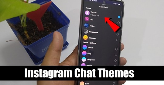 How To Change Instagram Chat Theme | Change Chat Theme in Instagram | New Instagram Messenger