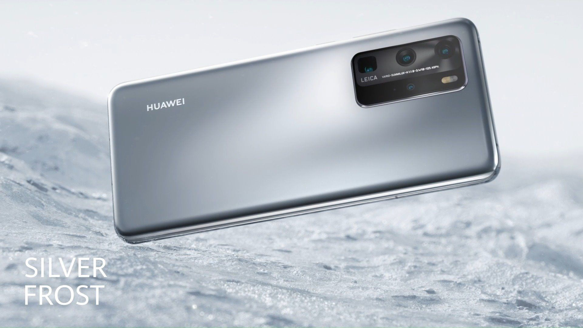 Our new #HUAWEIP40 Silver Frost edition is silky to the touch. With a stunning refractive matte finish, enjoy beauty without imperfections. #VisionaryPhotography